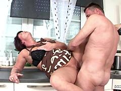 GERMAN damsel attract Stranger Craftsman to Fuck if married man off moms xxx